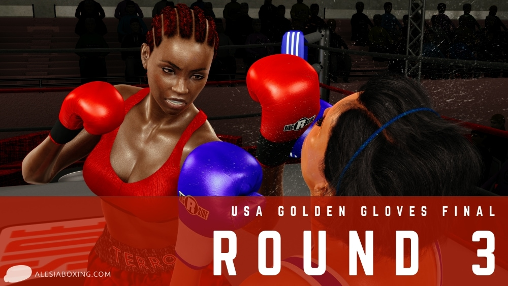 Mercedes Carter vs Caitlin Brown - Round 3