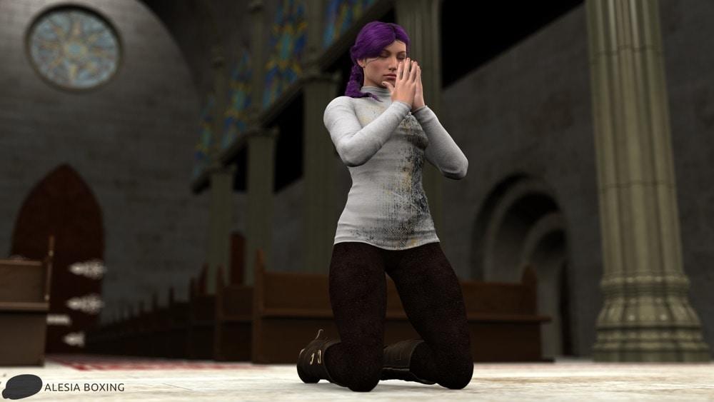 Heather praying teaser