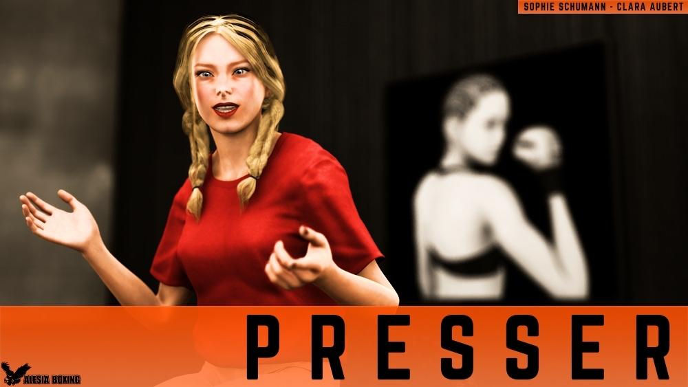 Sophie Schumann Clara Aubert press conference teaser