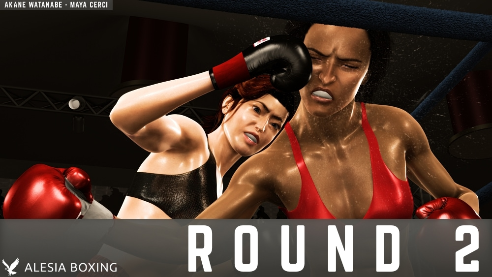 Akane Watanabe Maya Cerci Round 2