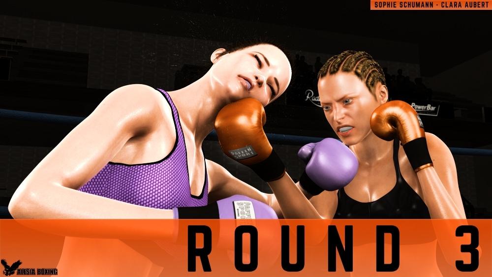 Sophie Schumann Clara Aubert Round 3