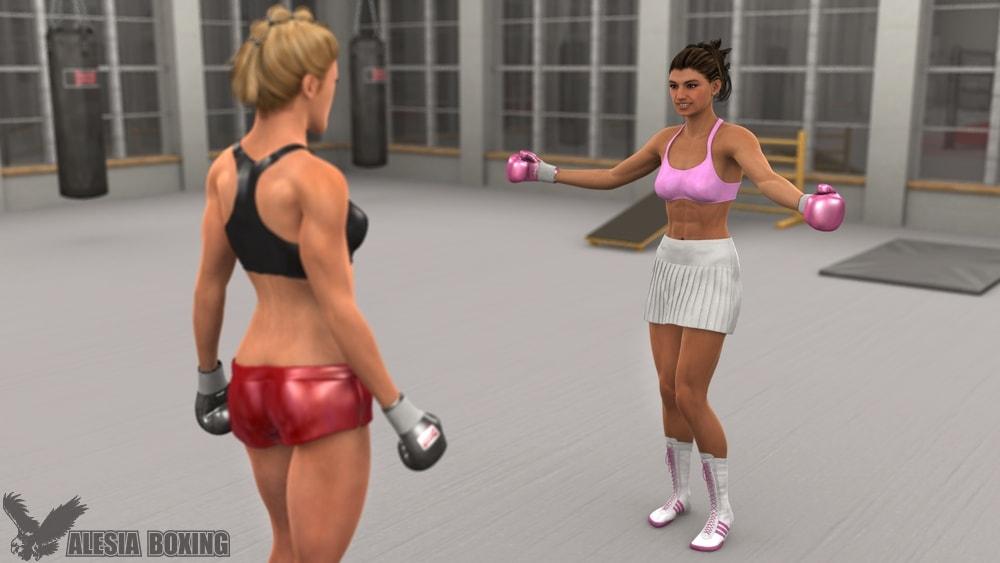 Alesia Schumann Virani MacVicar gym