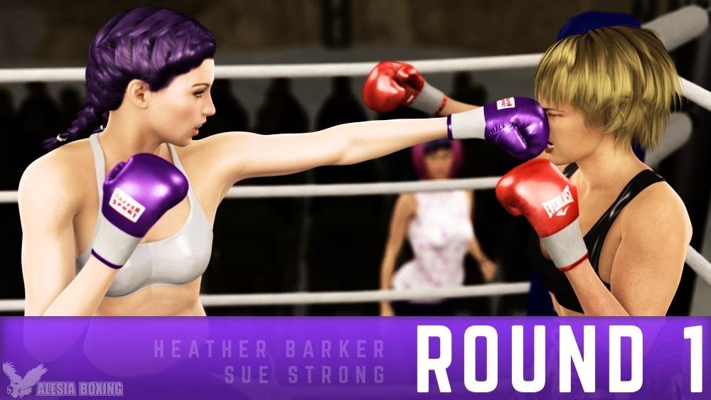 Heather Barker Sue Strong Round 1