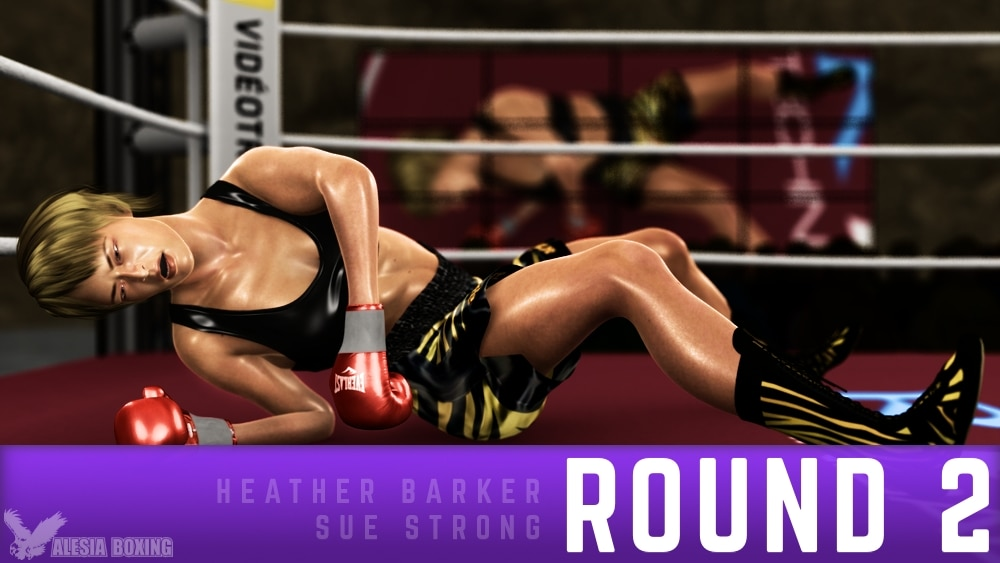 Heather Barker Sue Strong Round 2