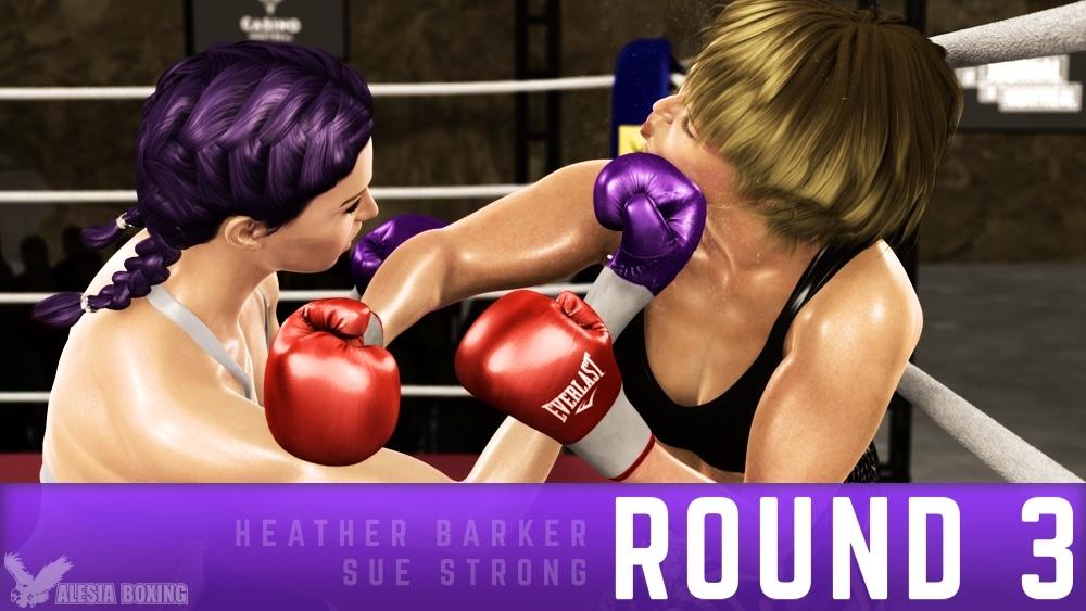 Heather Barker Sue Strong Round 3