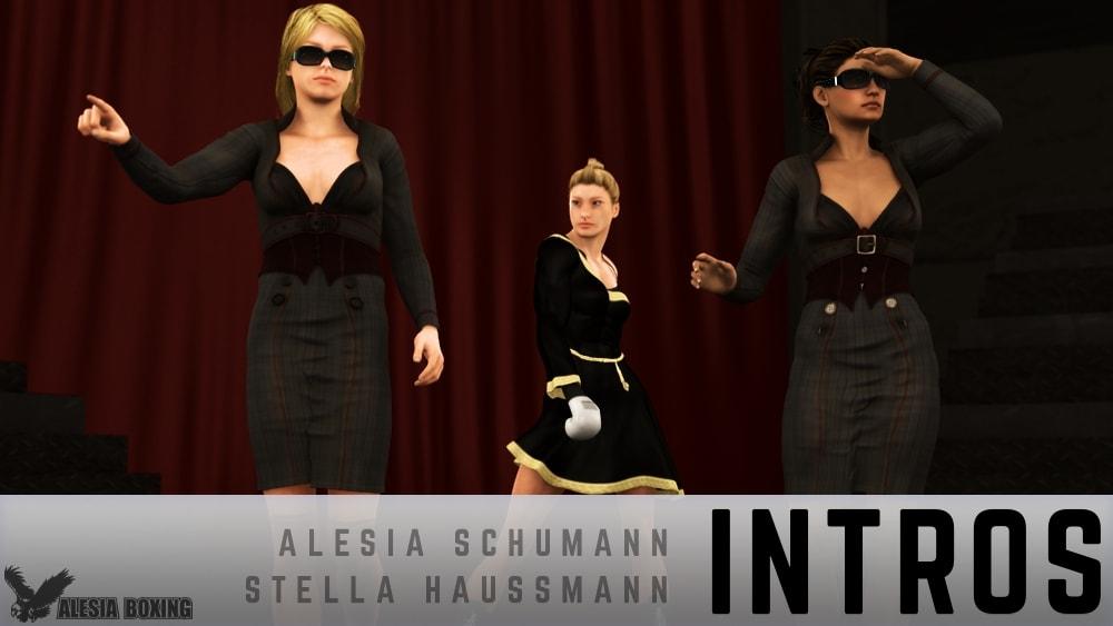Alesia Schumann Stella Haussmann introductions