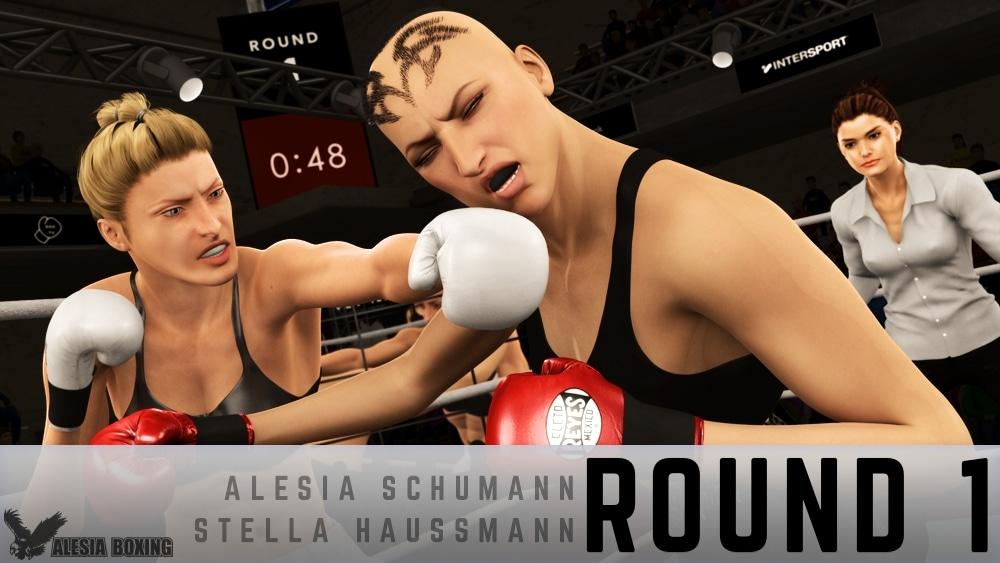 Alesia Schumann Stella Haussmann Round 1