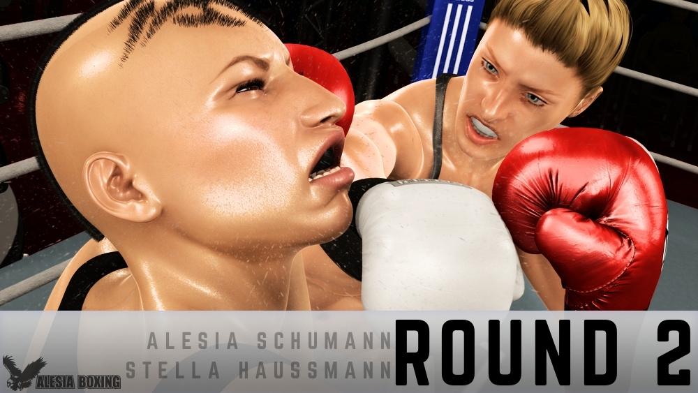 Alesia Schumann Stella Haussmann Round 2