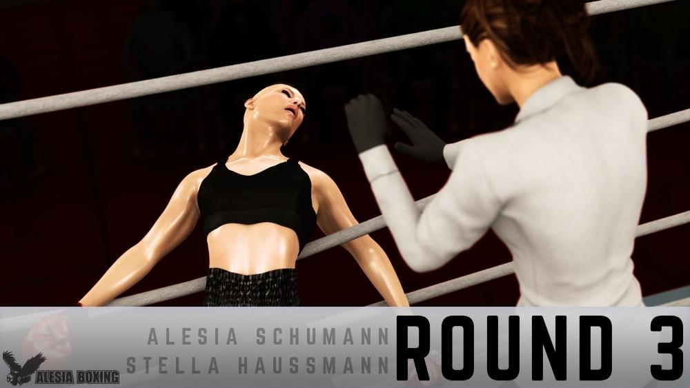 Alesia Schumann Stella Haussmann Round 3