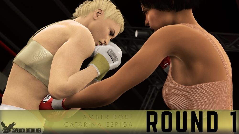 Amber Rose Catarina Espiga Round 1