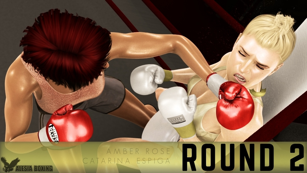 Amber Rose Catarina Espiga Round 2