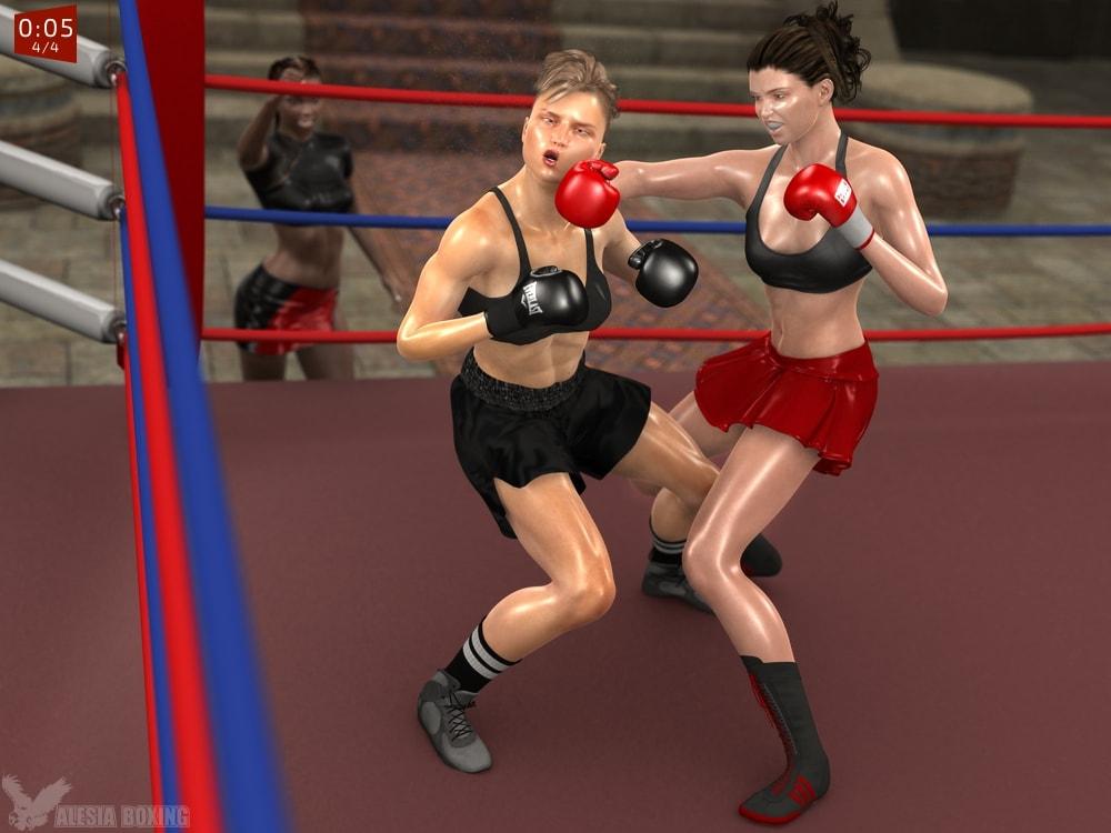 Chelsea Carter Valerie Hardy 3-1