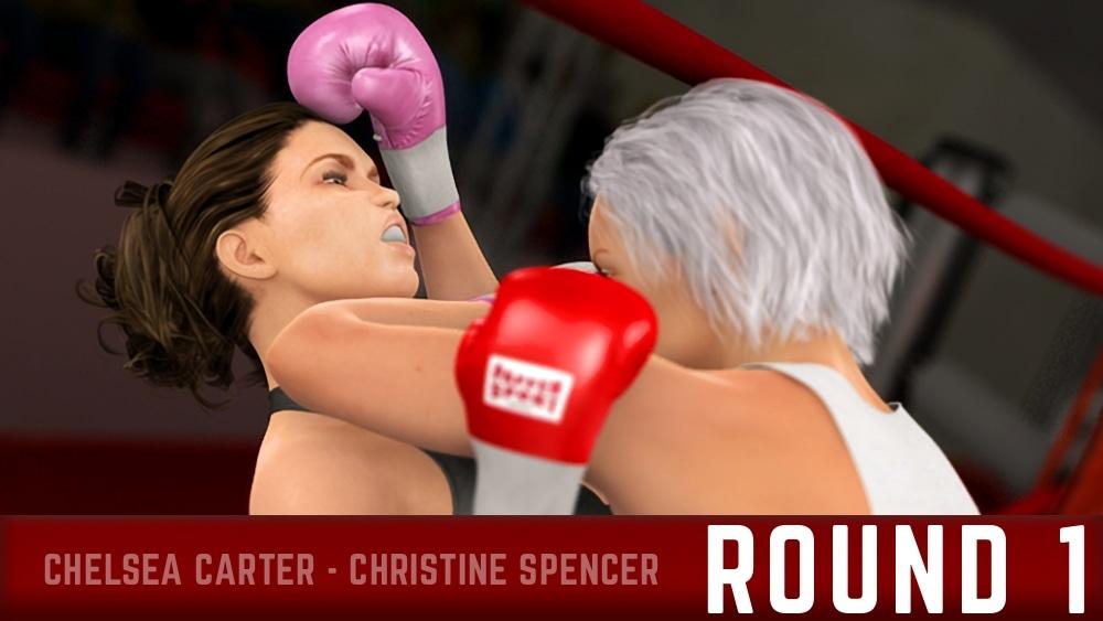 Chelsea Carter Christine Spencer Round 1