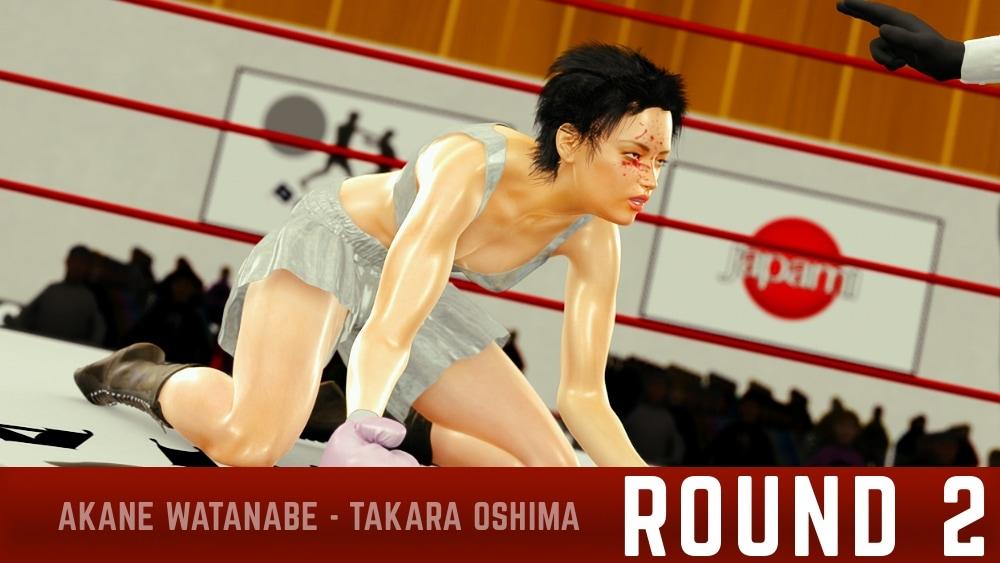 Akane Watanabe Takara Oshima Round 2 continued