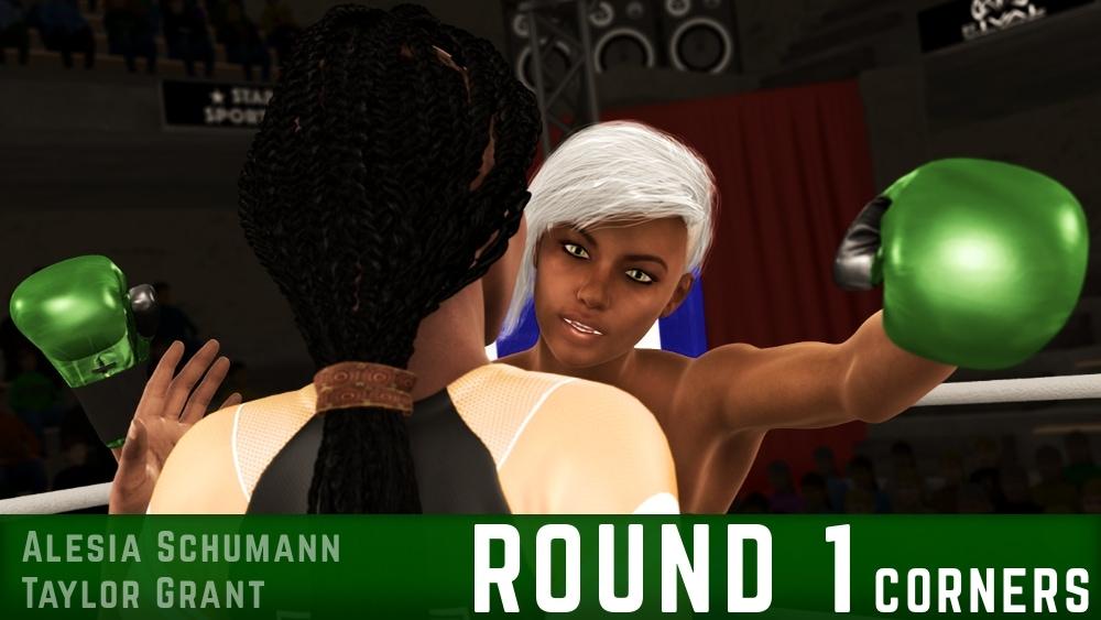 Alesia Schumann Taylor Grant Round 1 corners