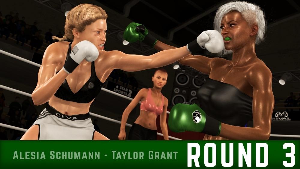 Alesia Schumann Taylor Grant Round 3