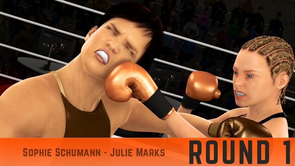 Sophie Schumann Julie Marks Round 1