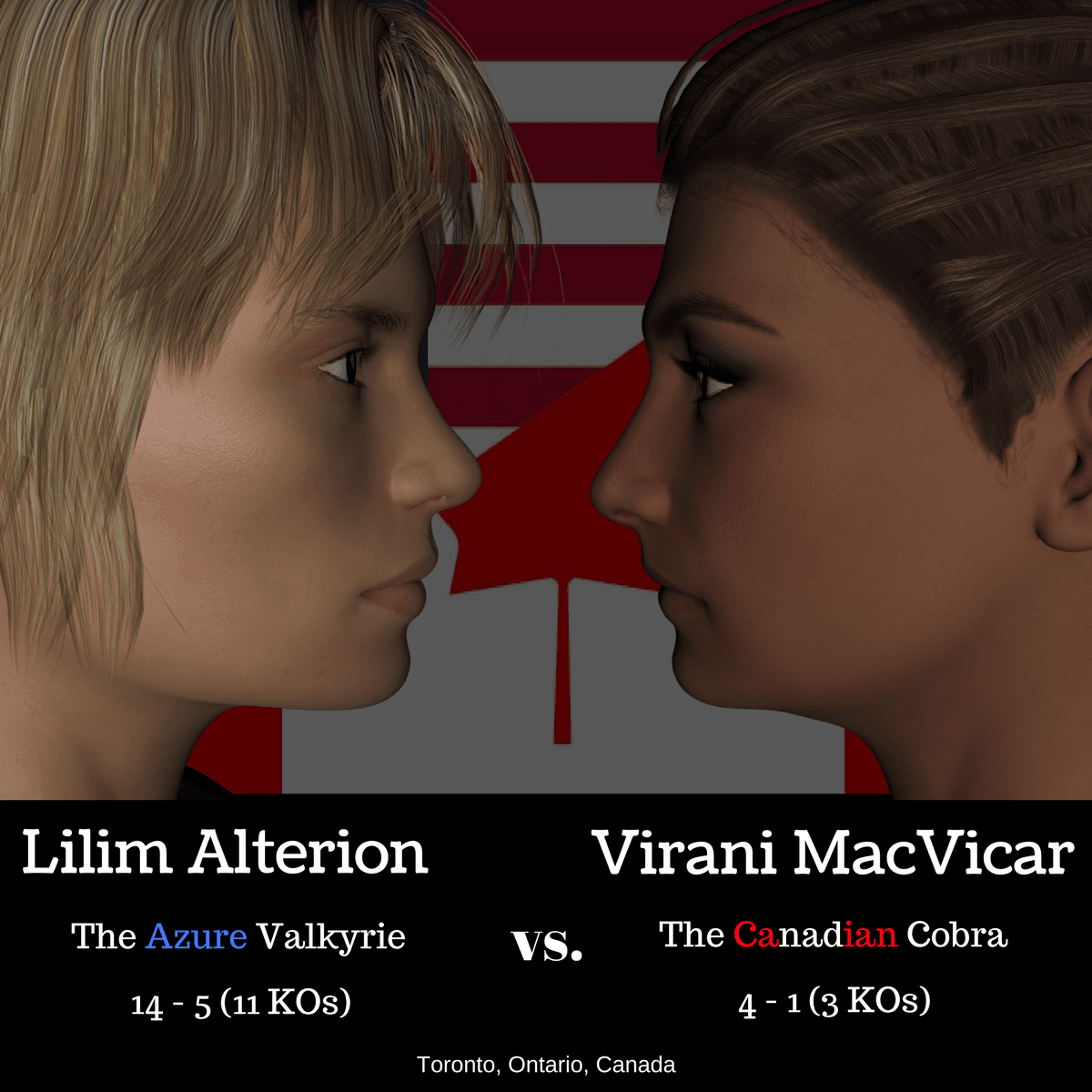 Virani v. Lilim - The Fight Poster