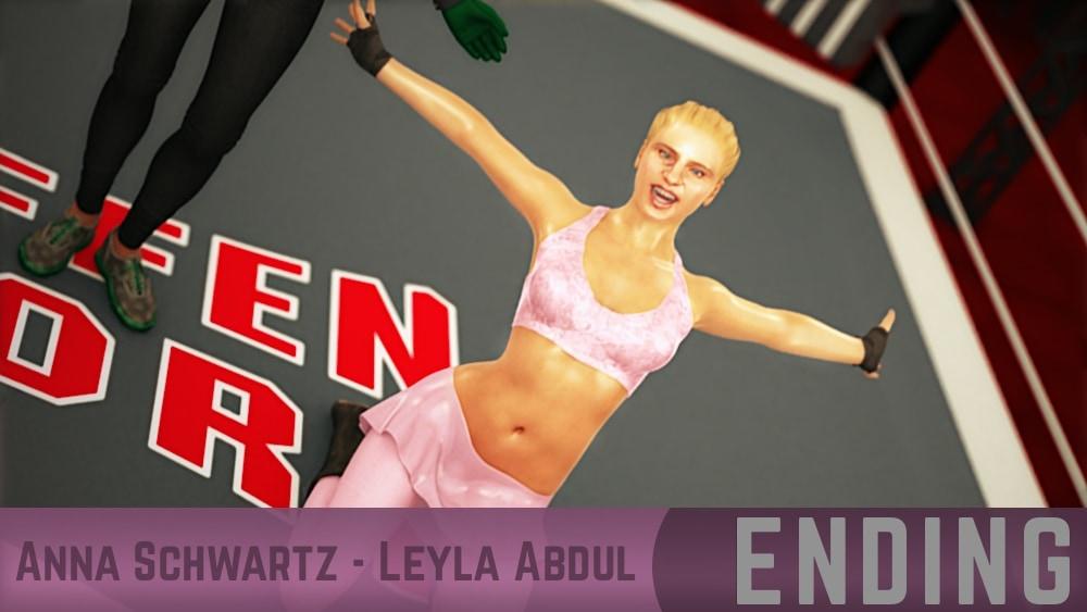 Anna Schwartz Leyla Abdul Round 10