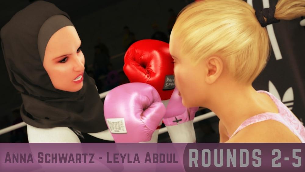 Anna Schwartz Leyla Abdul Rounds 2-5