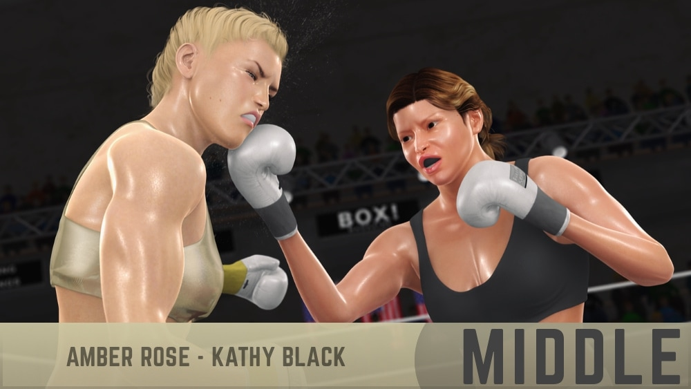 Amber Rose Kathy Black Rounds 4-7