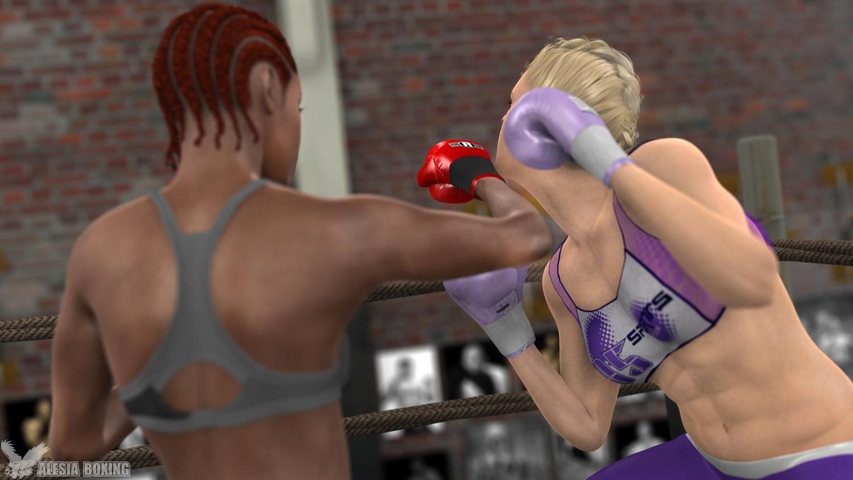 Amber Mercedes spar 4-3