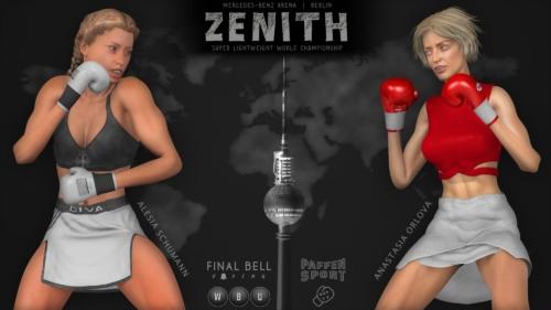 Alesia Schumann Anastasia Orlova fight poster