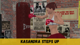 Kasandra Steps Up