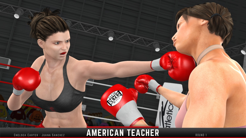 Chelsea Carter Juana Sanchez Round 1