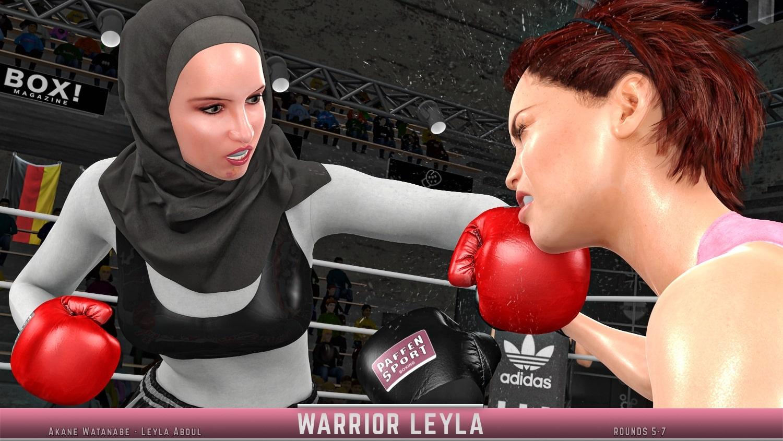 Akane Watanabe Leyla Abdul rounds 5-7