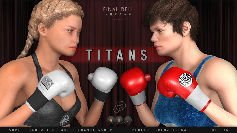 Titans: Alesia Schumann Chloé Potvin